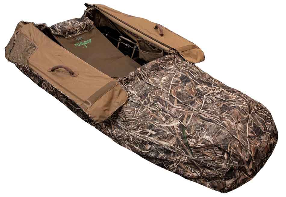 Goosebuster Elite XXL Layout Blind, Realtree Max 5
