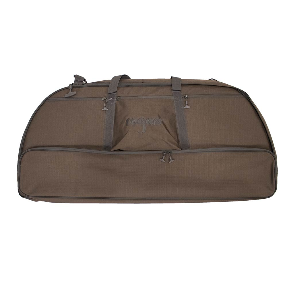 Rogers Toughman Soft Bow Case, Rogers Brown