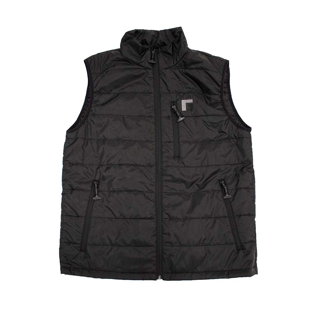 Rogers Fowl Weather Puffy Vest, Black