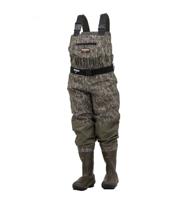 Rogers 2-in-1 Littlehunter Insulated Breathable Waders, Bottomland - Youth Sizes_1.jpg