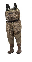 Rogers 2731856ROG 2-in-1 Refuge 2.0 Regular Breathable Waders, Max-5 Youth/Ladies Sizes