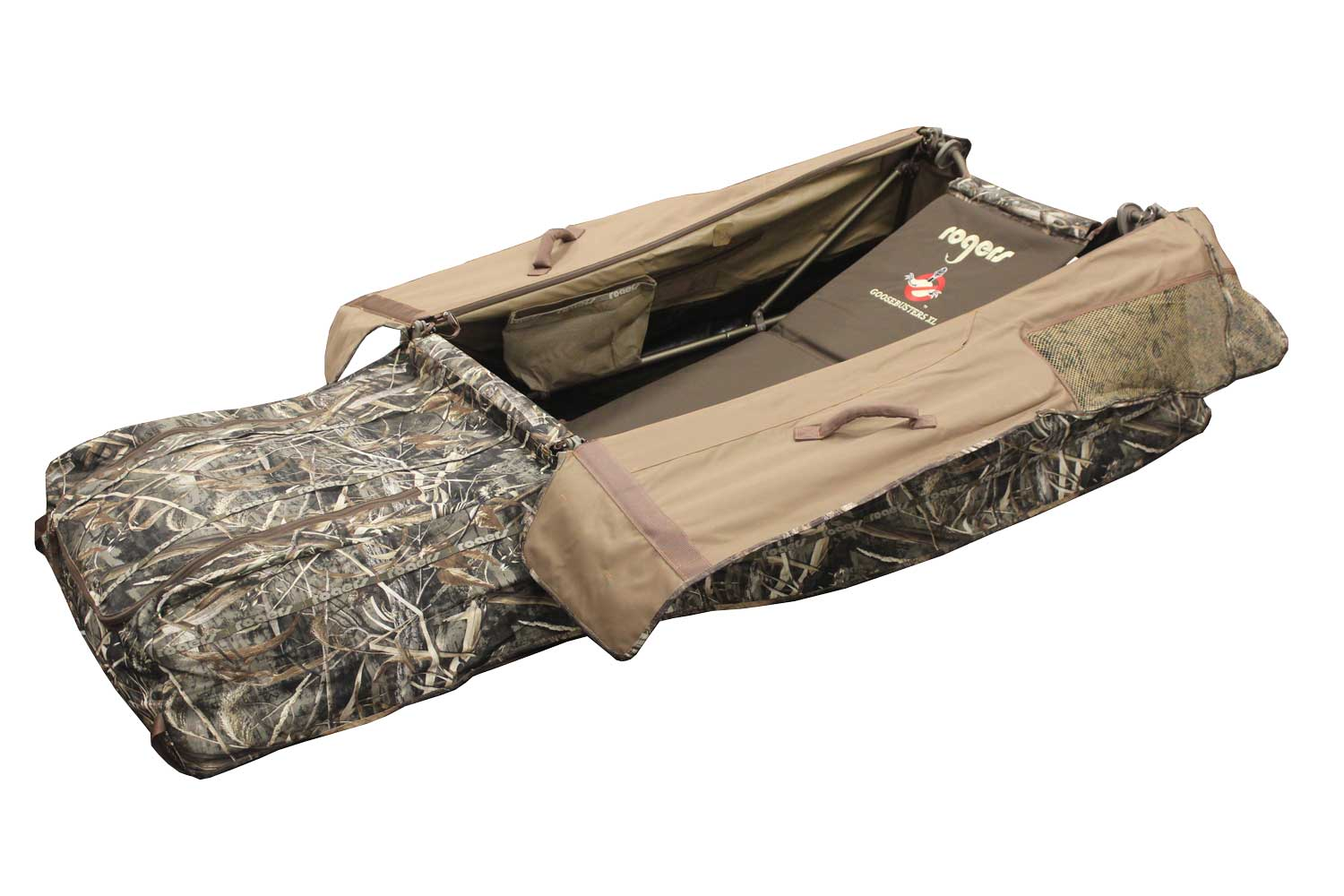 f09b6cc721abf Rogers Goosebuster XL Layout Blind in Realtree Max 5
