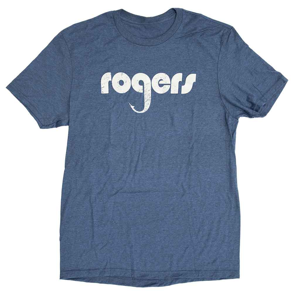Rogers Logo Short Sleeve T-Shirt_Deep Royal.jpg