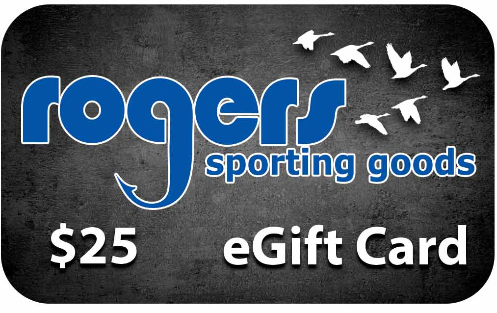 Rogers Sporting Goods $25 Online Gift Certificate