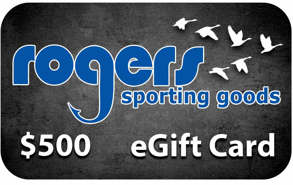 Rogers Sporting Goods $500 Online Gift Certificate