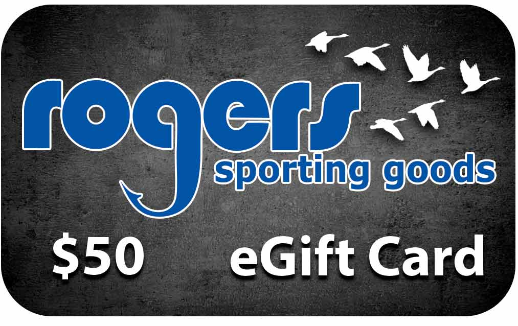 Rogers Sporting Goods $50 Online Gift Certificate