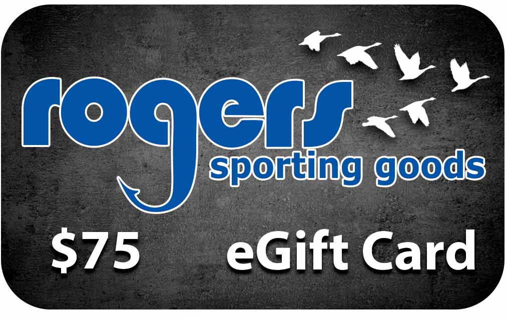 Rogers Sporting Goods $75 Online Gift Certificate