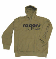Roger's Classic Duck Hoodie - Olive Drab