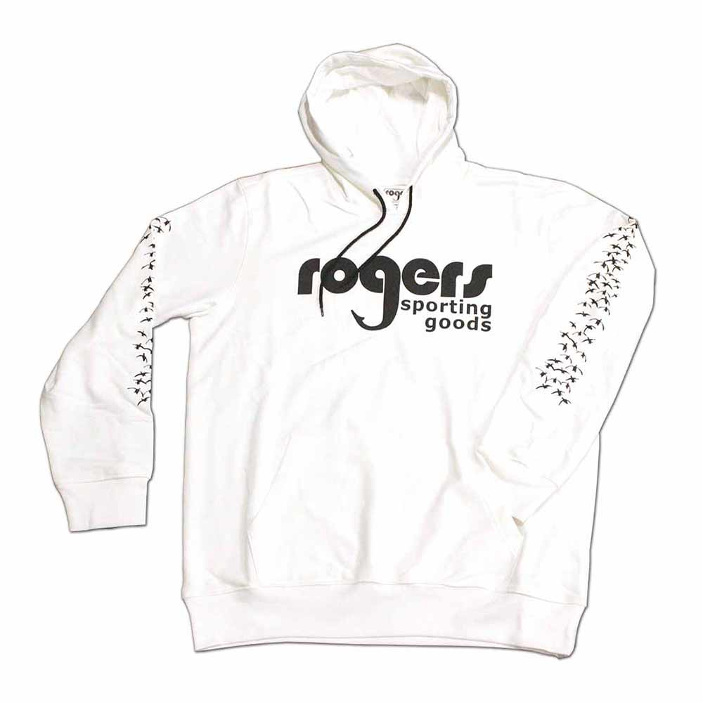 Roger's Classic Goose Hoodie - White
