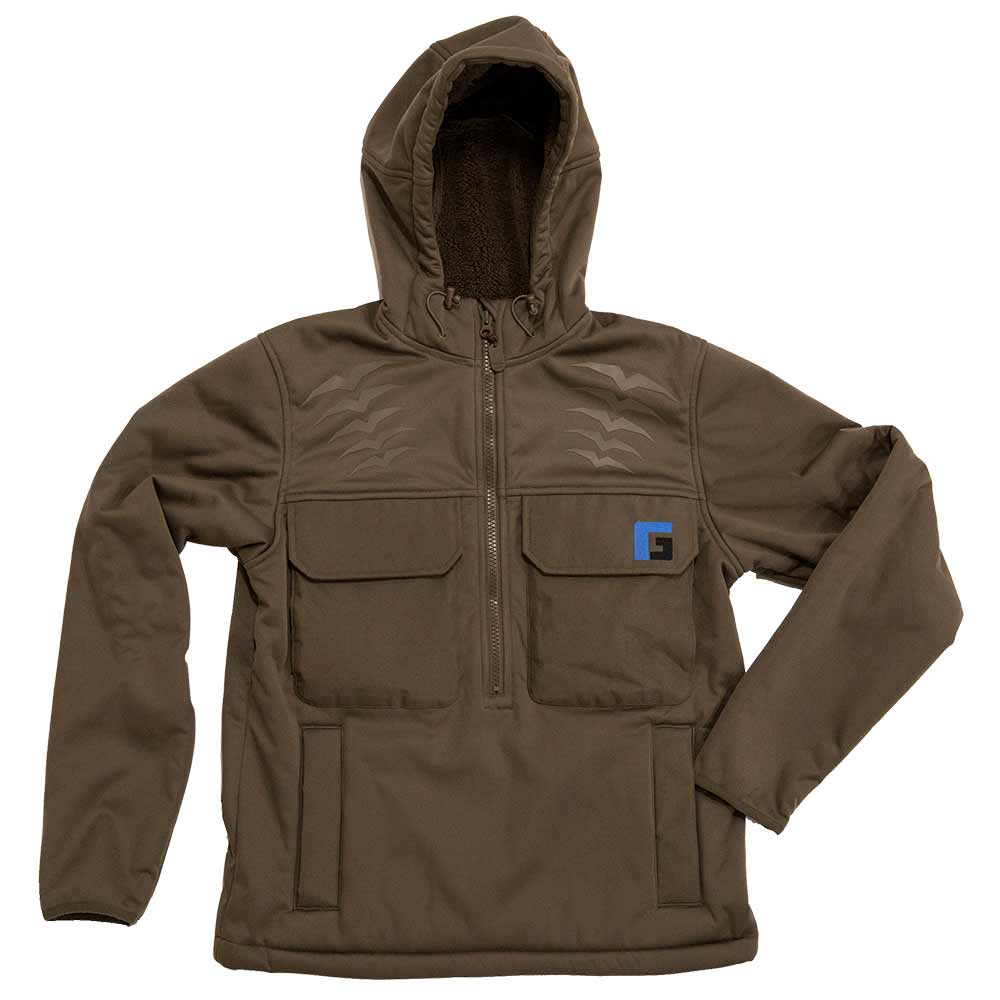 Rogers Gear Elite Heavyweight Fleece Jacket_Brown.jpg