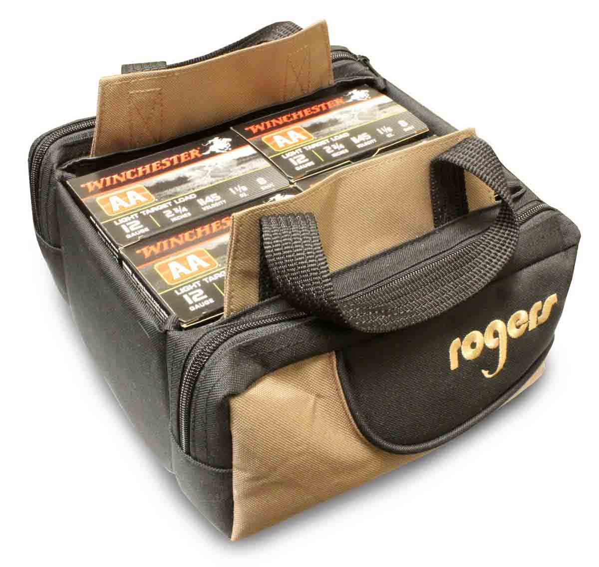 Rogers Trap Shooters 4-Box Shell Pouch