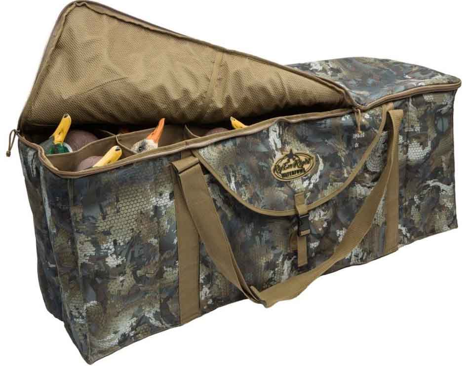 Rig'Em Right 12-Slot Deluxe Duck Decoy Bag - Timber