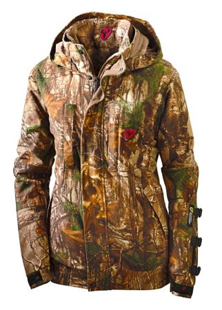 Scentblocker Sola Women's Outfitter Jacket. Realtree AP Xtra