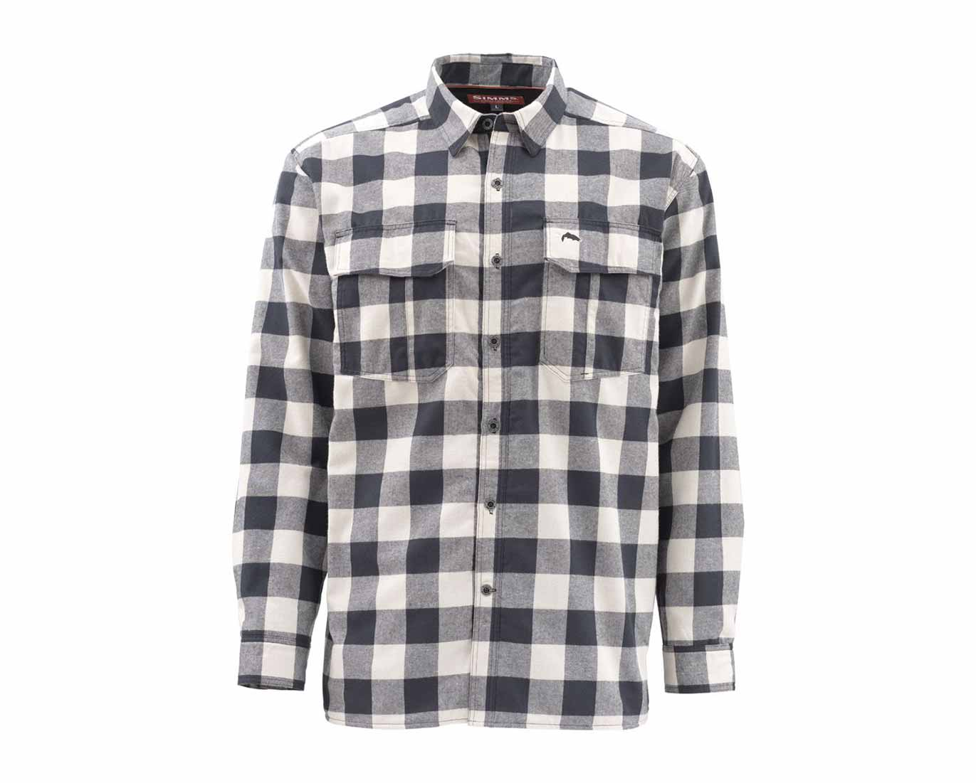 Simms Coldweather Long Sleeve Shirt - Sand Buffalo Plaid_1.jpg