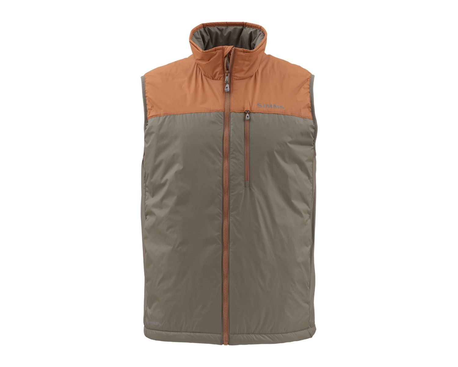 Simms Midstream Insulated Vest - Saddle Brown_1.jpg