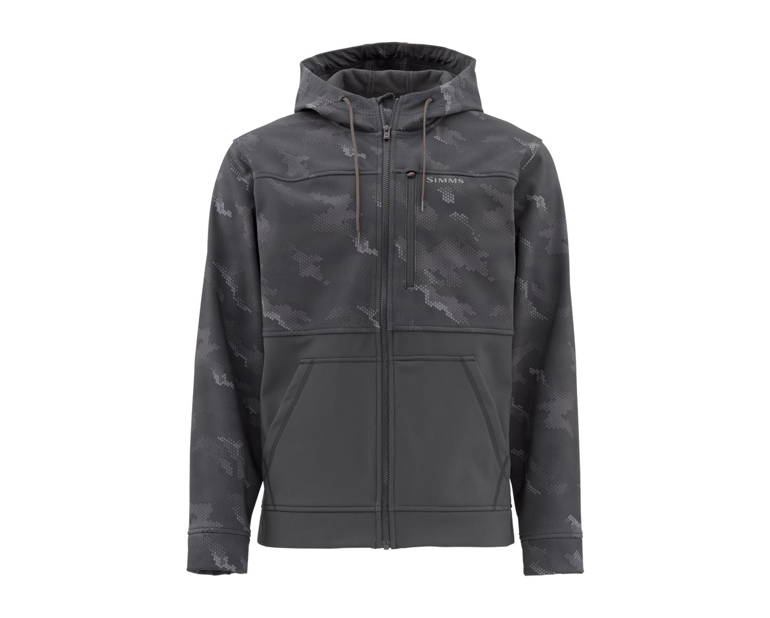 Simms Rogue Hoody - Hex Camo Carbon