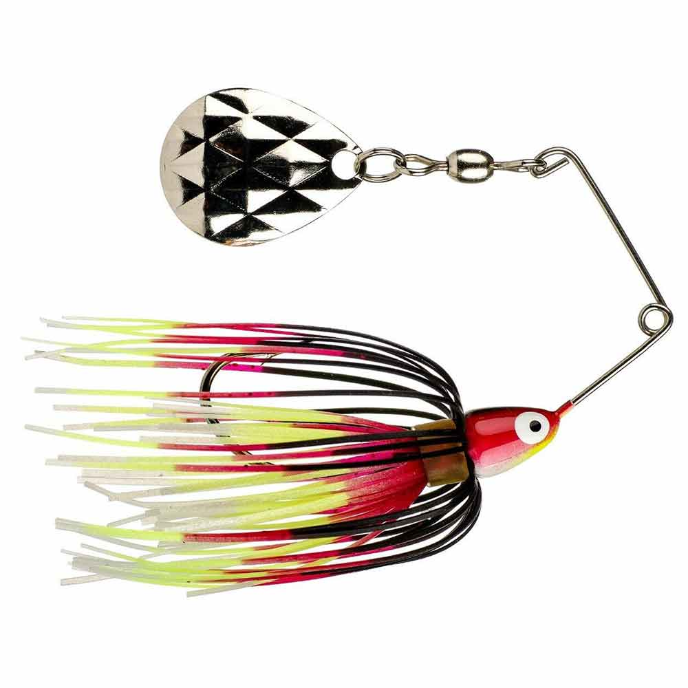 1/8 oz Mini-King Spinnerbait_Black Chartreuse White Red.jpg