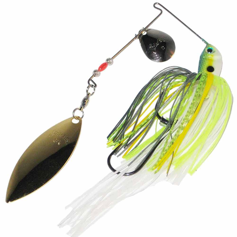 Strike King 3/8 oz Premier Plus Spinnerbait_Chartreuse Sexy Shad.jpg