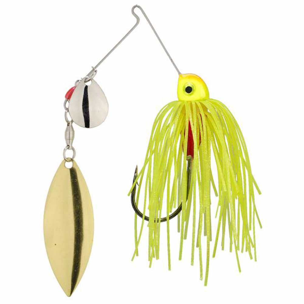 Strike King Compact Silhouette Spinnerbait_Chartreuse.jpg