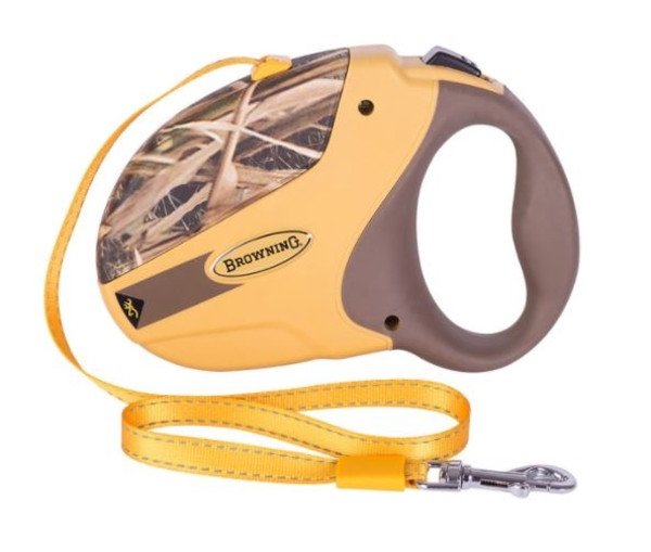 Browning Retractable Dog Leash - Mossy Oak - Large
