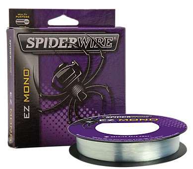 SpiderWire EZ Monofilament Fishing Line - Filler Spool - Fluorescent Clear Blue