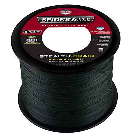 SpiderWire Stealth Fishing Line - Moss Green