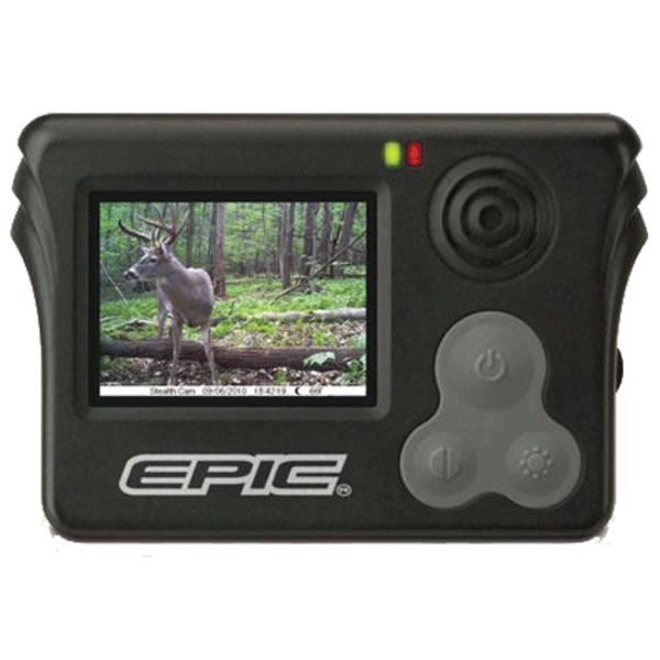 Stealth Cam Epic Viewer STC-EPV1 2 inch Color Screen, POV Lock, EPICHD or AV Jac