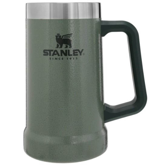 Stanley The Big Grip Beer Stein 24oz_Hammertone Green.jpg