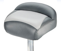 TEMPRESS GUIDE SERIES CASTING SEAT W/MOLDED FOAM - CHARCOAL/GREY
