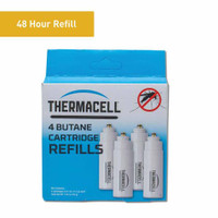 Thermacell Portable Insect Repeller Butane Fuel Refill, Pack of 4