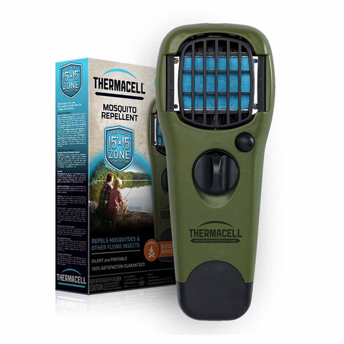 Thermacell Portable Mosquito Repeller, Olive_3.jpg