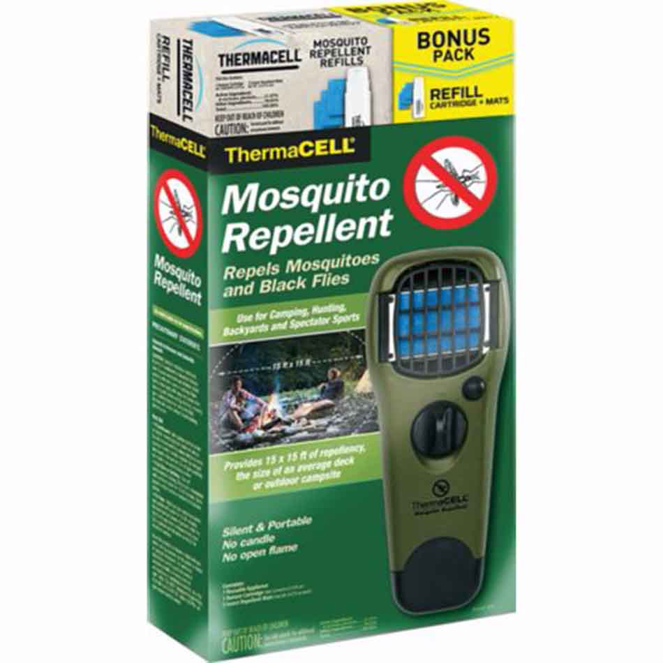 Thermacell Olive Mosquito Repellent with Black Holster_2.jpg