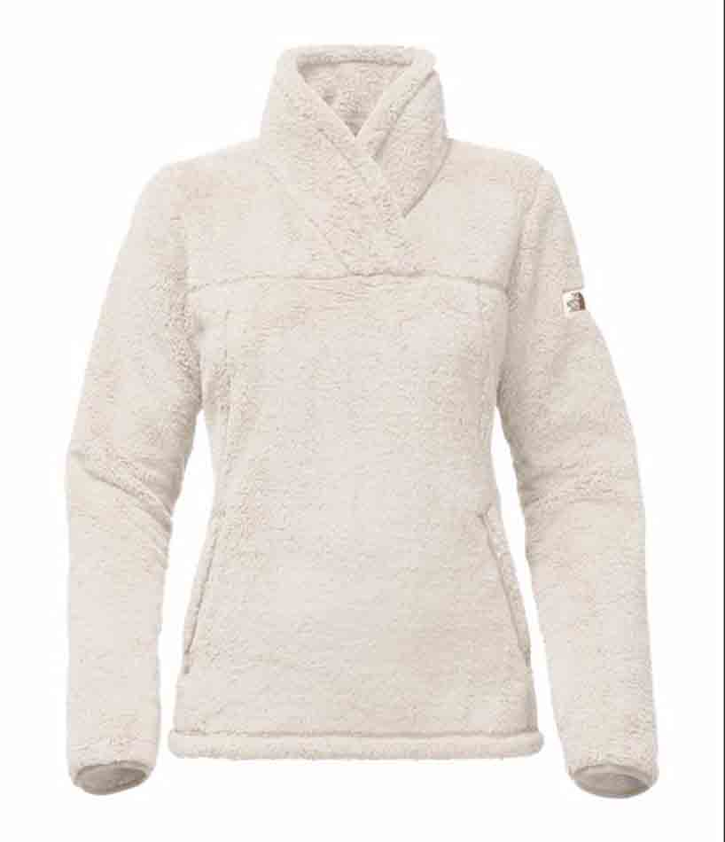 The North Face Womens Campshire Pullover, Vintage White_1.jpg