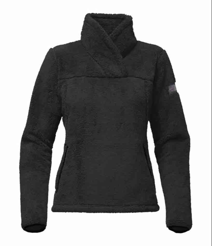 The North Face Womens Campshire Pullover, Black_1.jpg