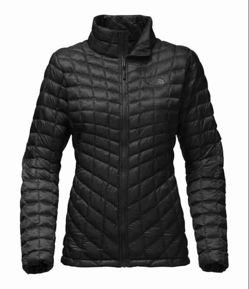 The North Face Womens Thermoball Full Zip Jacket, Black