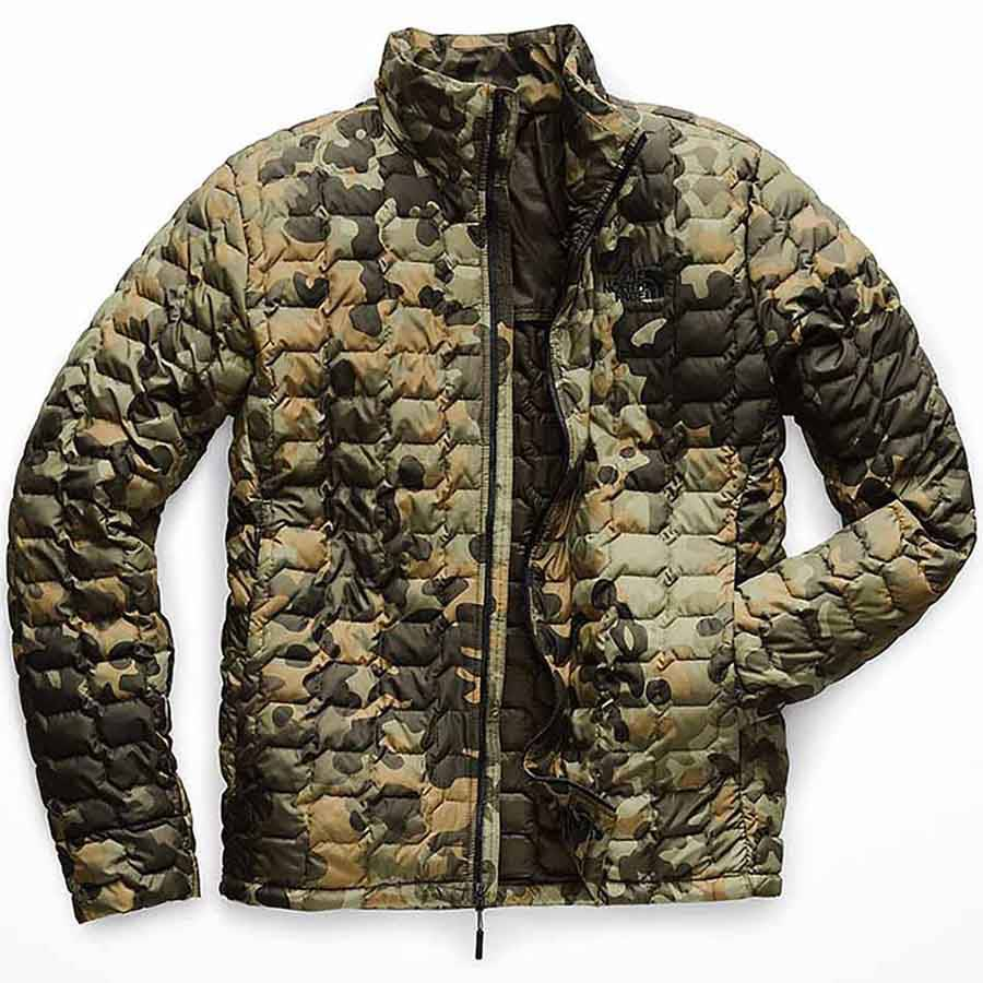 The North Face Men's ThermoBall Jacket, Taupe Green