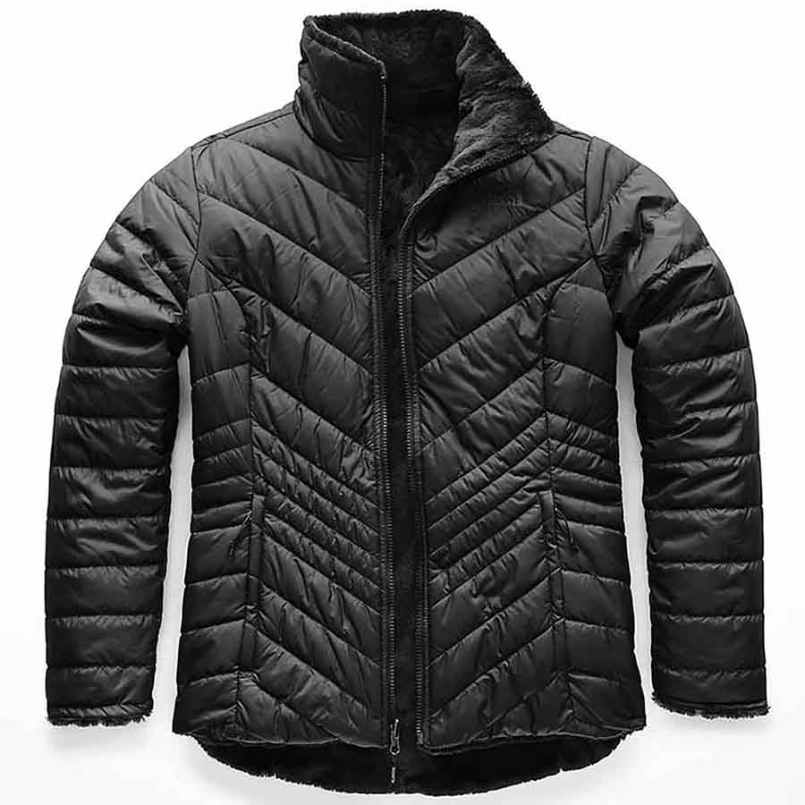 The North Face Women's Mossbud Insulated Reversible Jacket, Black_1.jpg