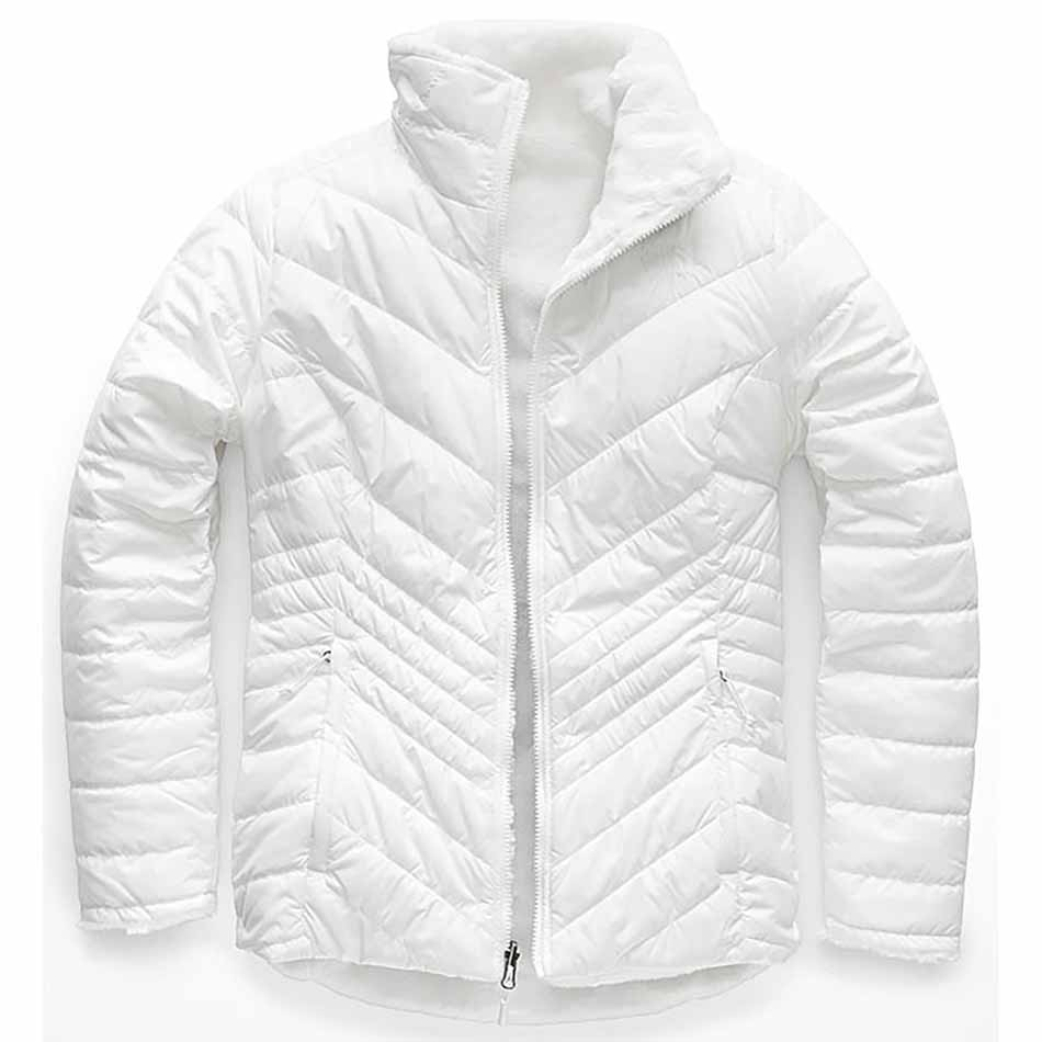 The North Face Women's Mossbud Insulated Reversible Jacket, White_1.jpg