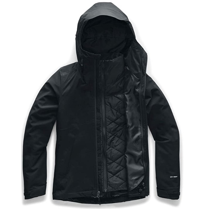 North Face Women's Carto Triclimate Jacket - Black