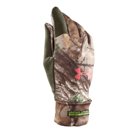 Under Armour UA Scent Control Glove in Realtree AP - Xtra