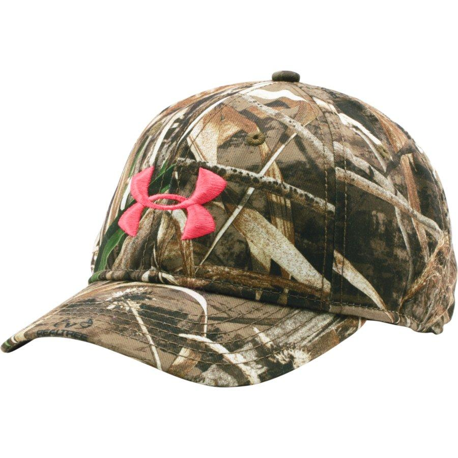 373d7f7a72bf9 Under Armour Womens Camo Hat in Realtree Max 5 / Perfectiom