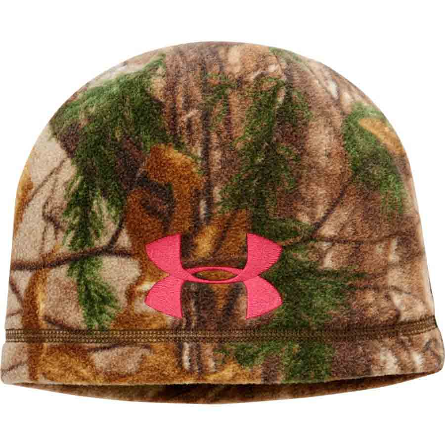 Under Armour ColdGear Infrared Scent Control Camo Beanie in Realtree AP-Xtra_1.jpg