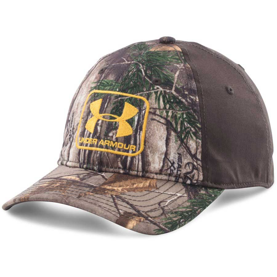 Under Armour Camo Stretch Fit Cap, Realtree AP Xtra_1.jpg