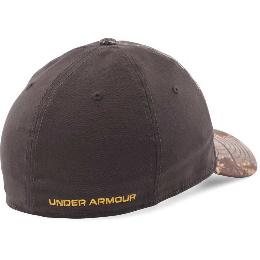 Under Armour Camo Stretch Fit Cap, Realtree AP Xtra_2.jpg
