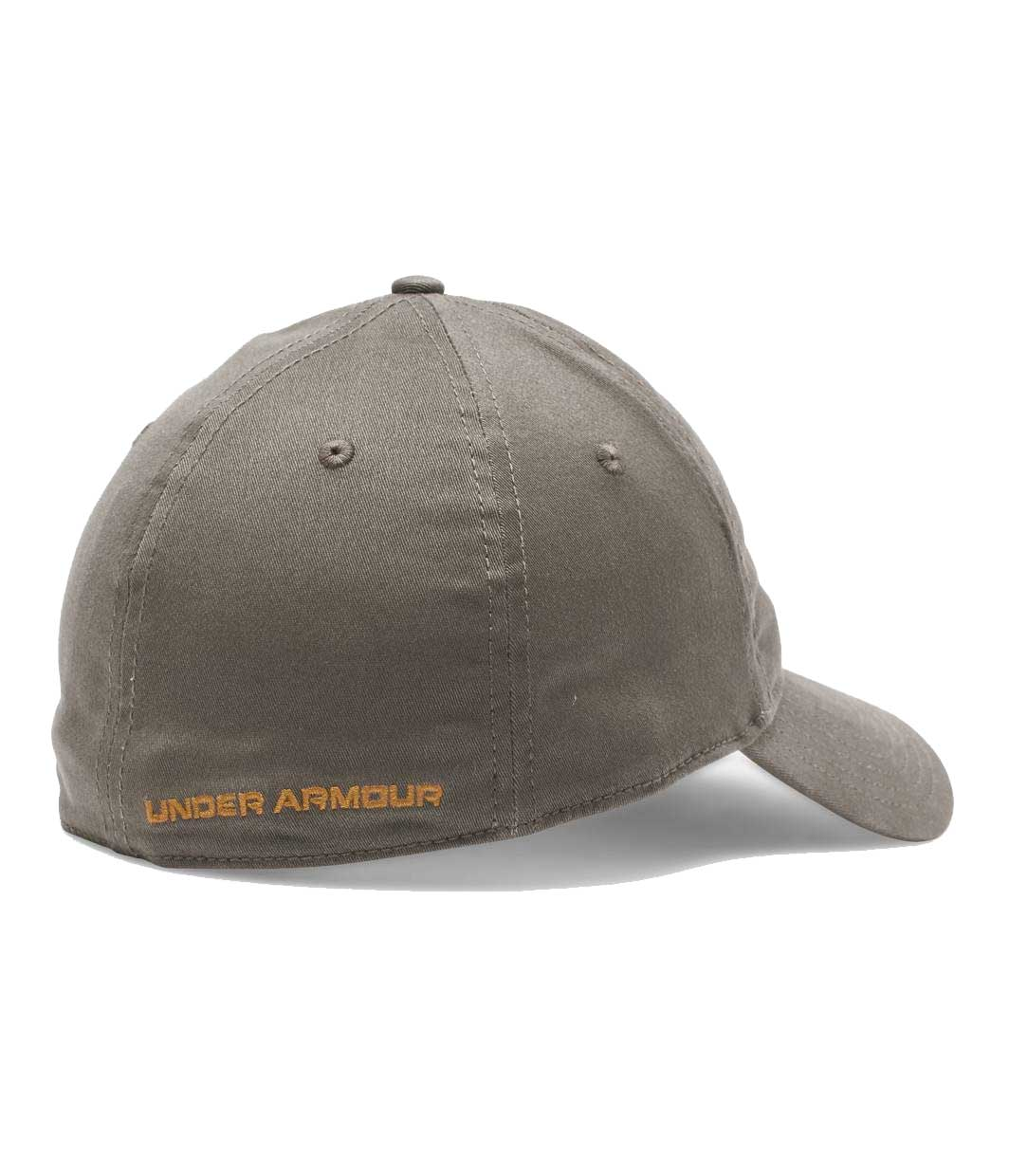 Under Armour Patch Stretch Fit Cap, Brown_2.jpg