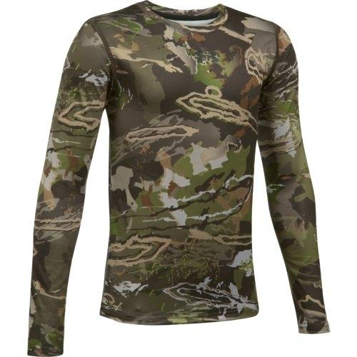 c617a74e19329 Under Armour Scent Control Tech Boys Hunting Shirt, Ridge Reaper Forest