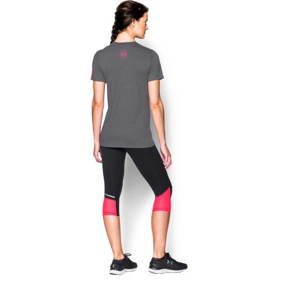 Under Armour Freedom Logo Women's Tactical Short Sleeve T-Shirt, Graphite_1.jpg