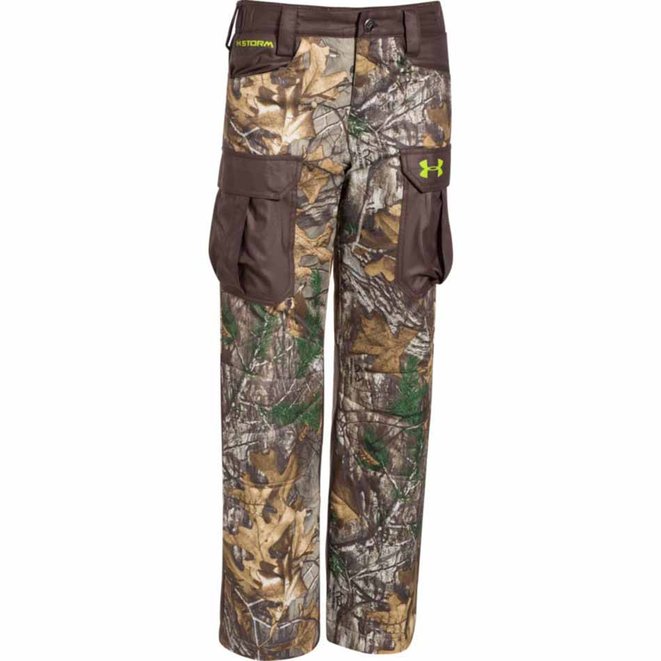 850a135c995fd Under Armour 1263857-946 Boys Storm Scent Control Barrier Pants ...
