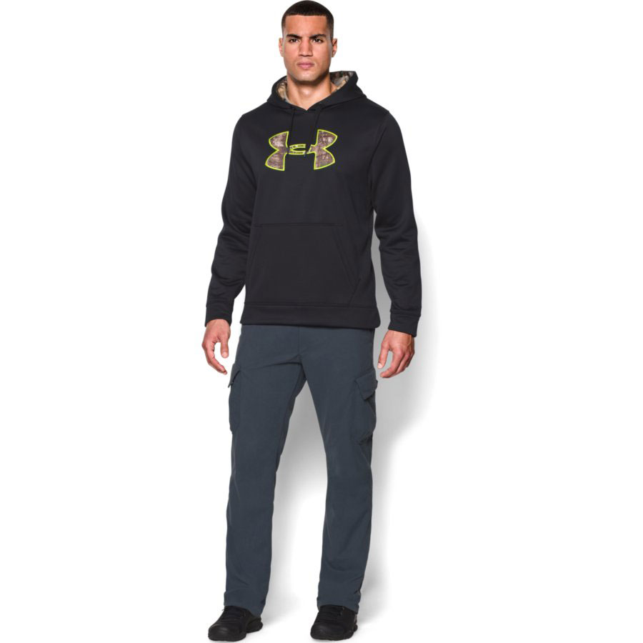 Under Armour Storm Caliber Men's Hunting Hoodie, Black_1.jpg
