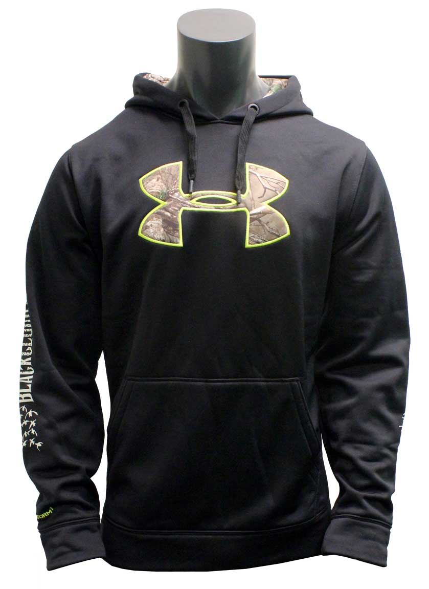 Rogers Under Armour Men's UA Storm Caliber Hoodie, Black - Black Cloud Edition_1.jpg